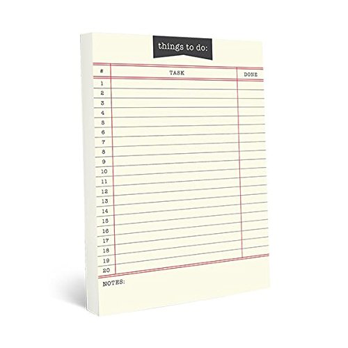 Graphique Library Card Large Notepad $7.86 (REG $13.26)