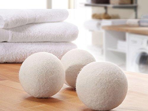 Bolas de secado & Bolas de secado de 100% auténtica lana de Nueva Zelanda–schonender Suavizante