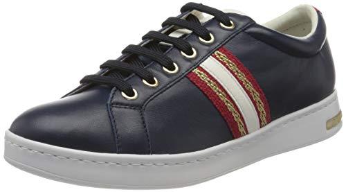 Geox Damen D Jaysen A Sneaker, Blue, 38 EU