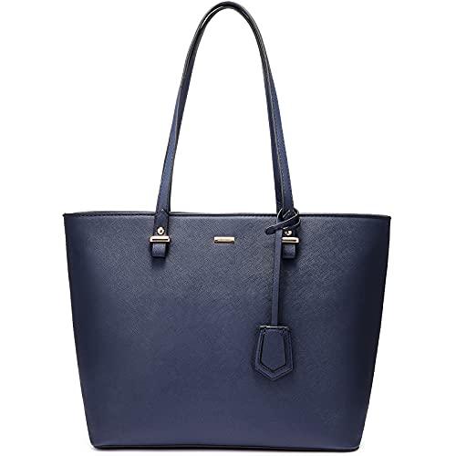 LOVEVOOK Handbags for Women Large Purses Tote Handbag Shoulder Satchel Leather Bag with Zipper Pocket