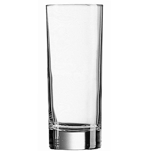 Arcoroc - Lot de 6 verres à bière de 33 cl pour jus de fruits Soft Drink Vodka modèle Island