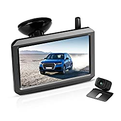 Wireless Backup Camera Kit with Digital Signal, Anti-Interference, No flickers