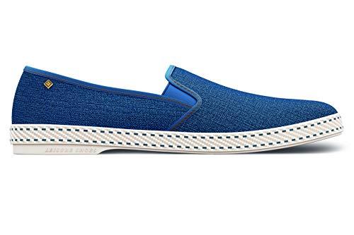 Rivieras, Espadrilles Mixte Adulte, Bleu (Blue Jean...