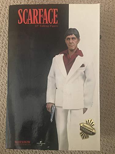 Scarface Tony Montana weisser Anzug 30cm Figur (#3403!)
