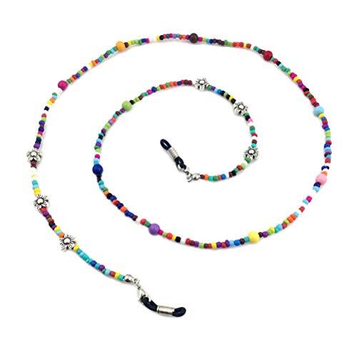 Lunettes colorées de lunettes de lunettes de lunettes de mode Lunettes de lecture de lunettes de corde de chaîne Corde de sangle de cou