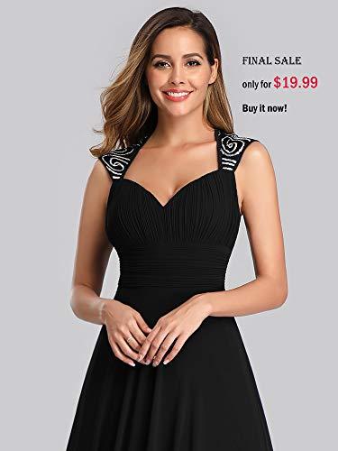 Ever-Pretty Womens Sleeveless V Neck Open Back Long Evening Gown 14 US Light Purple