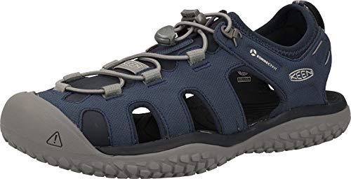 KEEN Solr Sandal Navy/Steel Grey 11