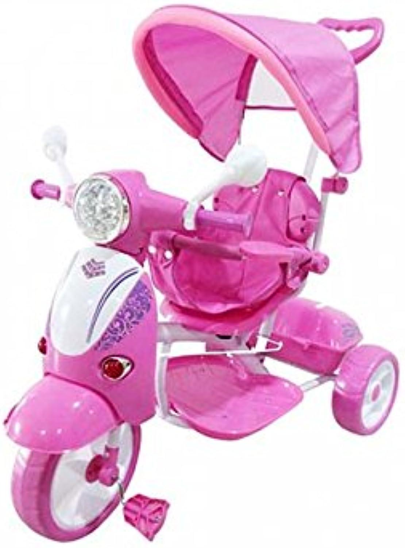 AZIAMOR ITALIAN DESIGN Tricycle Vespa Pink az65ros