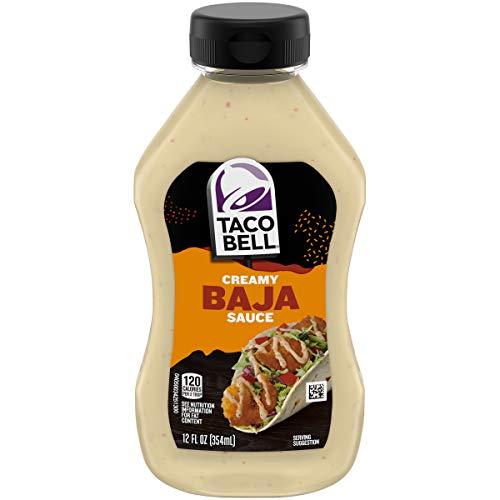 Taco Bell Mexican Taco Bell Baja Creamy Sauce, 12oz, 12 ounce