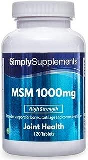 MSM Tablets 1000mg (120 Tabs)