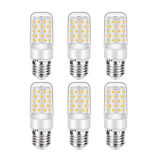E27 LED Mais Glühbirnen 8W entspricht Glühbirnen 80W Nicht Dimmbar, E27 LED Warmweiß 3000K, 800Lm Maiskolben Led Lampe Edison Schraube Kerze Leuchtmittel, 6er Pack
