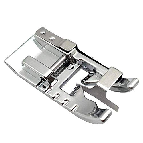 Stitch in Ditch Foot/Edge Joining Foot Sewing Machine Presser Foot - Fits All Low Shank Snap-On Singer, Brother, Babylock, Janome, Kenmore, White, Juki, New Home, Simplicity, Elna etc.