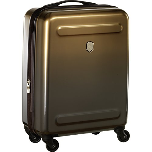 Victorinox Etherius Hardside Expandable Spinner Luggage, Bronze, Carry-On-Global (22')