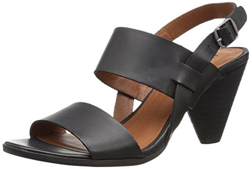 Lucky Brand Women's VENEESHA Dress Sandal, Black, 7.5