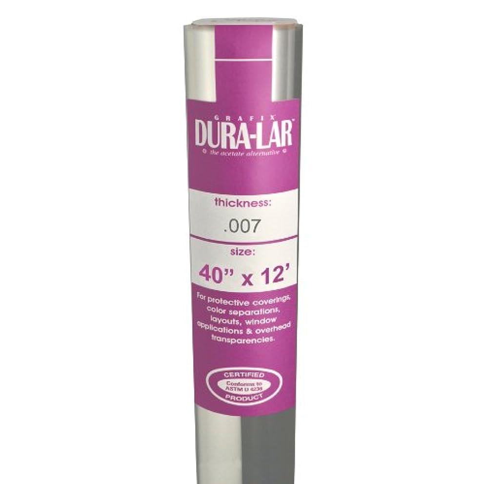 Grafix Clear .007 Dura-Lar 40-Inch-by-12-Feet, Roll