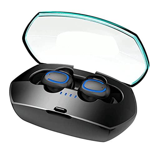 00119 XuanPad Ecouteur Bluetooth, Ecouteur Sans Fil TWS Léger Stéréo Écouteurs Bluetooth 5.0,25 Heures Playtime Etanche IPX6 Auriculaires Avec Micro Intégré