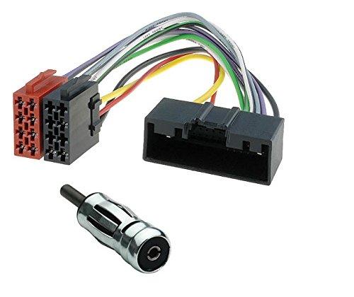 Sound Way Cavo Adattatore Connettore ISO, Adattatore Antenna Compatibile con Ford Fiesta, C-Max, Opel Meriva