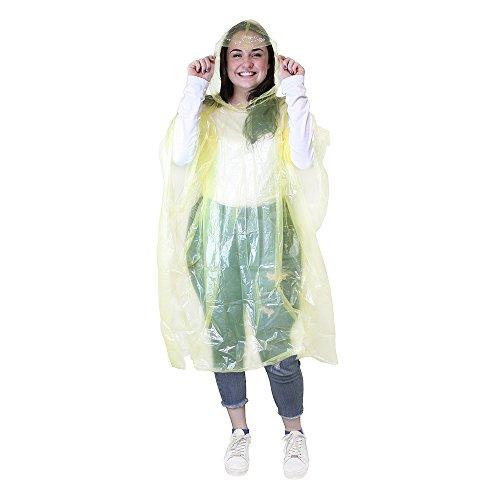eBuyGB heren 1216528d Mac noodgevallen regen waterdicht poncho, geel, One Size