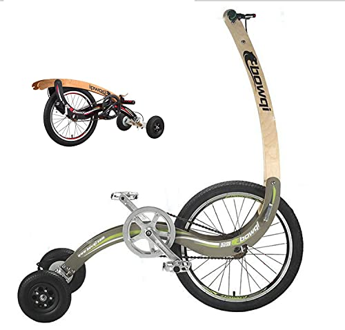 ASEDF Bicicletas, Bicicleta de Ejercicio para Estudiantes, Bicicleta Vertical portátil 20 Pulgadas de Bicicleta de Ejercicio Plegable Green