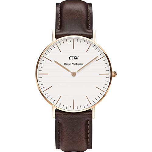 Daniel Wellington - Uhr gemischte 36 mm Bristol Rose Gold DW00100039