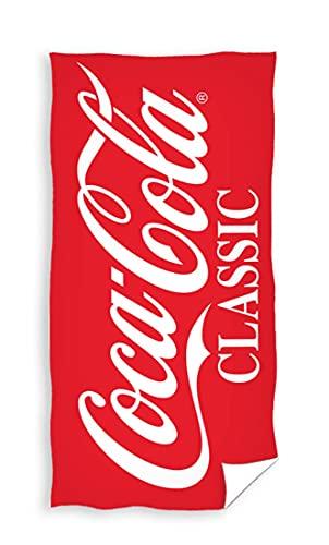 Coca Cola COLA195024 - Toalla de mano (70 x 140 cm), diseño de Coca Cola