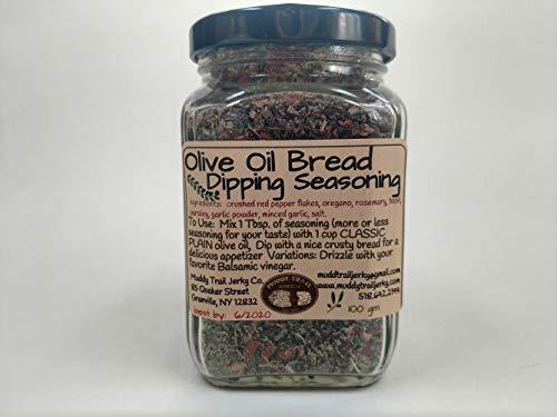 Olive Oil Bread Dipping Seasoning Jar