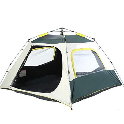 2-4 personas tienda playa tienda camping al aire libre playa impermeable protector solar transpirable ocio productos al aire libre automático apertura rápida tienda