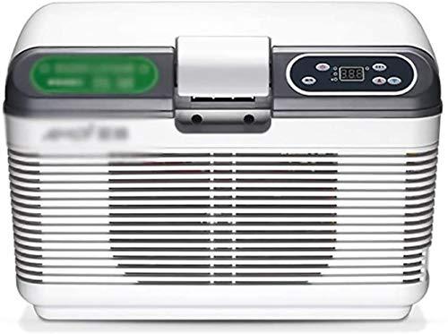 GAONAN Mini refrigerador del coche camping nevera portátil caliente fría Electric Box, super tranquilo en el vehículo del congelador for el coche de la pantalla táctil mini nevera congelador Enfriador