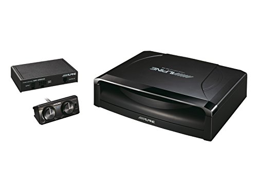 Alpine SWE-1200 - Sistema de sonido para coche, color negro