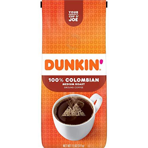 Dunkin Donuts Medium Roast Colombian Ground Coffee 311g (Dunkin Donuts Mittlerer Gerösteter Kolumbianischer Gemahlener Kaffee)