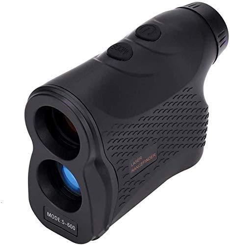 ZHUYU Telémetro del golf, campo de láser telémetros, Pro de Medición de Pendiente, 6X magnificación, Laser Golf telémetros, 656 yardas / 600 m, a prueba de agua IP54 telescopio monocular telémetro, al