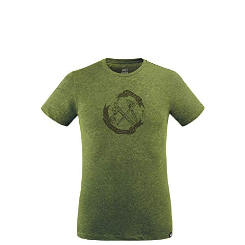 Millet - Old Gear TS M - T-shirt Sport Homme, Vert, M
