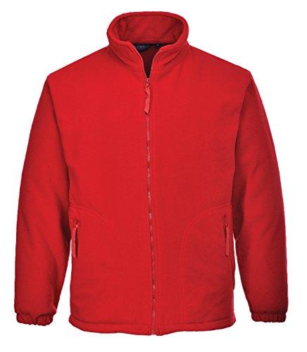 PORTWEST Argyll Heavy Fleece, 1 stuks, XS, rood, F400RERXS