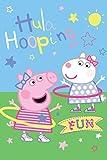 Peppa Pig Hula Hooping - Manta polar