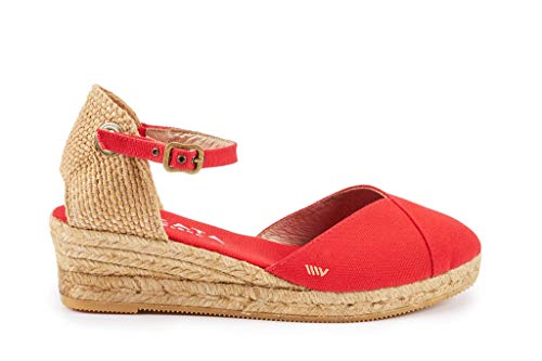 Viscata Espadrilles-Sandalen , rot - Rot - Größe: 40 EU