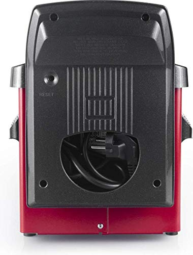 Fritel ST4153RED Friteuse 3L 2200W Rood/Zwart.
