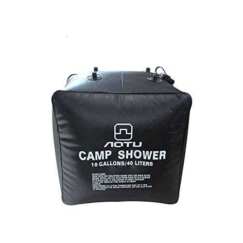 outdoor product Sac de Douche Solaire en Plein air léger Solaire Camping Randonnée Pack de Douche Portable Sac d'eau léger Poche de Bain 40L