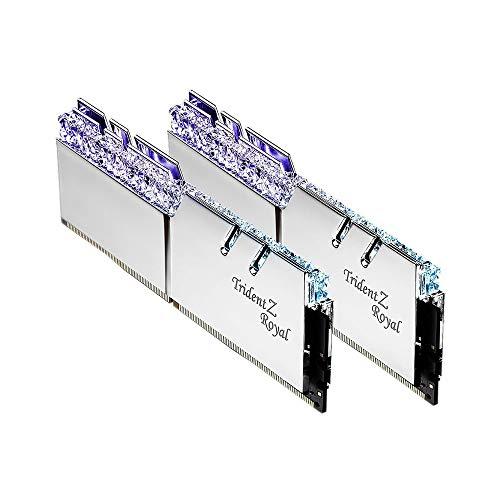 G.Skill Trident Z Royal Series F4-3000C16D-16GTRS - Memoria RAM para Ordenador (16 GB, 2 x 8 GB, 288 Pines, DDR4, SDRAM DDR4 3000)