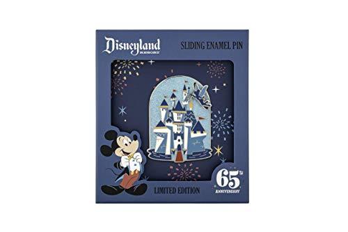 Funko Loungefly: Disney 65th - Disney Castle, 3 inch Sliding Enamel Pin