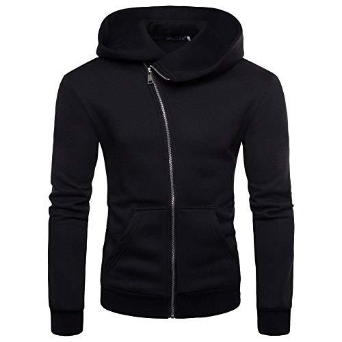 Long shirt mannen zwarte hooded sweat heren capuchon trui volwassen oversize trui effen voor dagelijks dragen in de open lucht