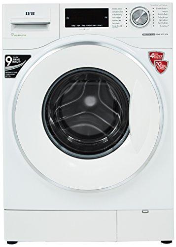 IFB 8.5 kg 5 Star Inverter Fully-Automatic Front Loading Washing Machine (Executive Plus VX ID, White, Inbuilt Heater, Aqua Energie water softener)
