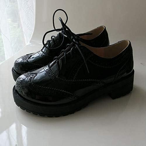 HommesGLTX Talon Aiguille Talons Hauts Sandales Nouveau 34-43 Taille Plus Les Les dames Femmes Chaussures Bout Rond Talons Hauts Style Décontracté à Lacets