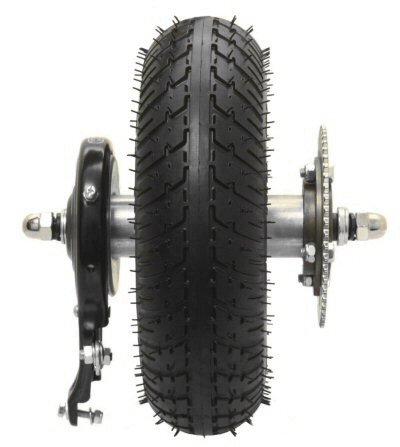 Razor Elektro-Skooter E300 (Version 41 +) Hinterrad-Montage