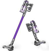 hosome scopa elettrica senza filo, 3 in 1aspirapolvere verticale aspirazione potente 22000pa con display digitale & supporto di montaggio, autonomia fino a 43 minuti, 2 spazzole …