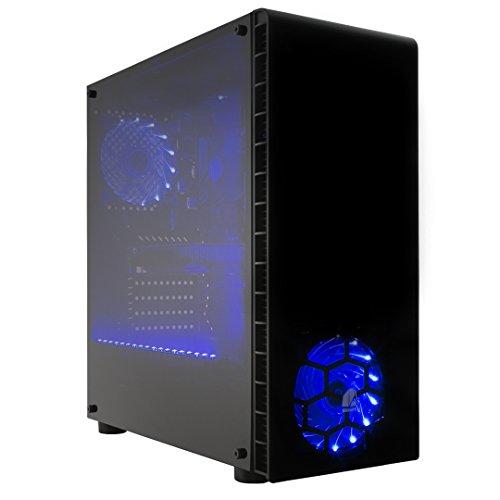 (PRECIO *Rebajas de octubre*) Antes 979€ ahora 676,21€ CPU: RYZEN 3 1200 3,40 GHZ x 4 núcleos (turbo) / GRÁFICA: NVIDIA GTX 1050 Ti 4GB RAM: 16 Gb 2400 MHZ DDR4 HDD: 2 TB SATA 6 GB/S * Producto 100% Español* Windows 10 de 64 bits versión preliminar, ...