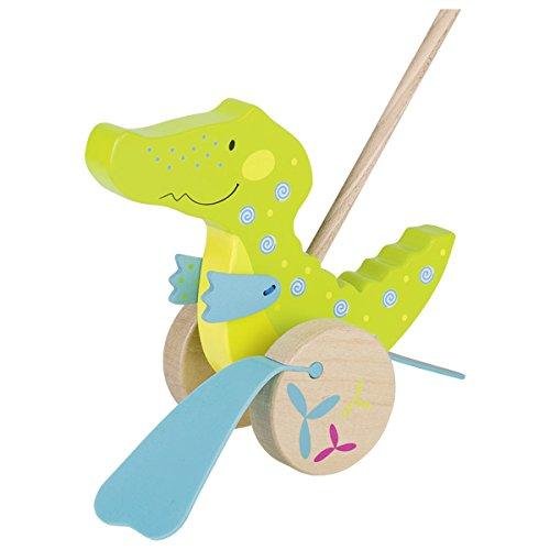 Goki 54911 - Schiebetier Krokodil - Susibelle Kollektion