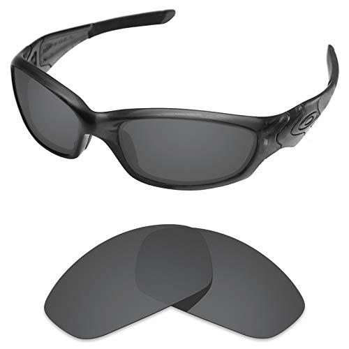 sunglasses restorer Polarisierte Ersatzgläser für Oakley Straight Jacket 2.0 (Black Iridium Linsen)