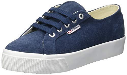 Superga 2730-sueu, Zapatillas de Gimnasia para Mujer, Azul (Blue Night Shadow J41), 39 EU