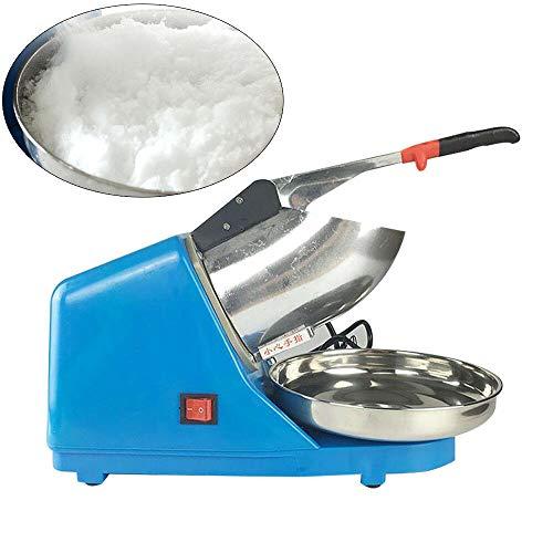Berkalash Elektrischer Edelstahl Eiscrusher Ice Crusher Ice Maschinen Crusheisbereiter Eiswürfel Crusher Eiszerkleinerer 220V