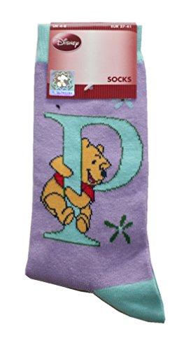 Disney Damen Socken Walt 37/41 Pu der Bär (0010)